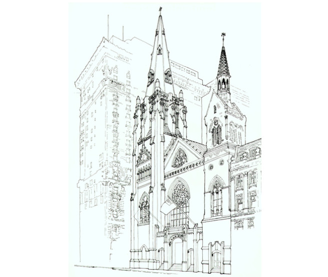 5th Ave Presbyterian Church Rendering